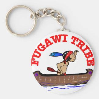 Fugawi Tribe Basic Round Button Keychain