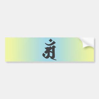 Fugen-bosatsu 3 bumper sticker