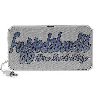 Fuggedaboudit- Brooklyn, NYC Altavoz De Viaje