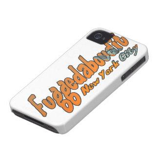 Fuggedaboudit- Brooklyn, NYC iPhone 4 Cover