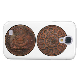 Fugio Cent Mind Your Business Front and Back Samsung Galaxy S4 Cover