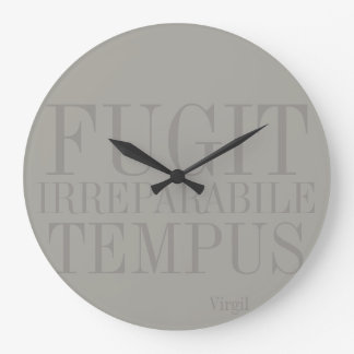 Tempus Fugit Wall Clocks Zazzle