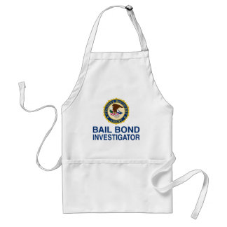 Fugitive Recovery Agent Adult Apron