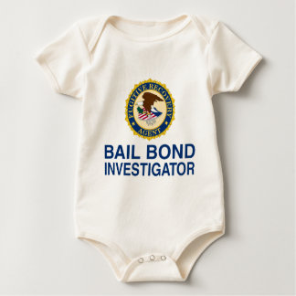 Fugitive Recovery Agent Baby Bodysuit
