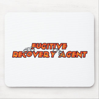 Fugitive Recovery Agent - Fire Mouse Pads
