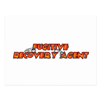Fugitive Recovery Agent - Fire Postcard