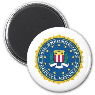 Fugitive Recovery Agent Fridge Magnets
