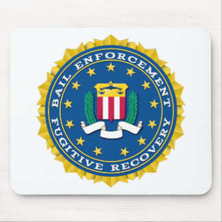 Fugitive Recovery Agent Mouse Pad