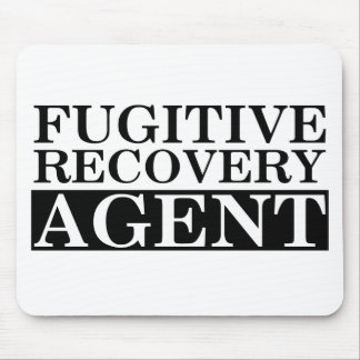 Fugitive Recovery Agent Mouse Pads