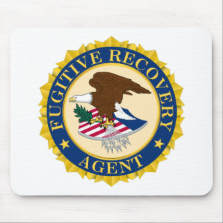 Fugitive Recovery Agent Mousepad
