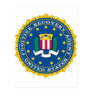 Fugitive Recovery Agent Postcard