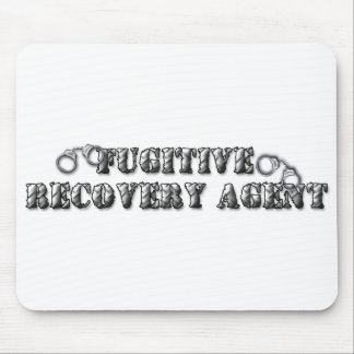 Fugitive Recovery Agent - Silver Mousepads