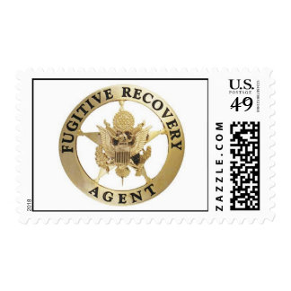 Fugitive Recovery Agent Stamp