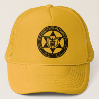Fugitive Recovery Agent Trucker hat