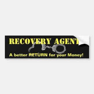 Fugitive Recovery Bumper Sticker