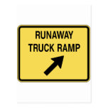 fugitivo-camión-rampa tarjetas postales