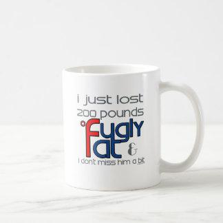Fugly Divorced Him Coffee Mug