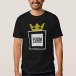 FUGM con la corona de Saab por la camiseta del SAB Poleras