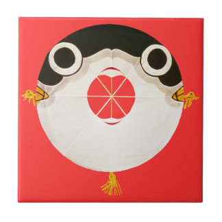 Fugu blowfish tiles
