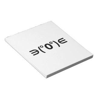 Fugu Kaomoji Japanese Emoticon Note Pads