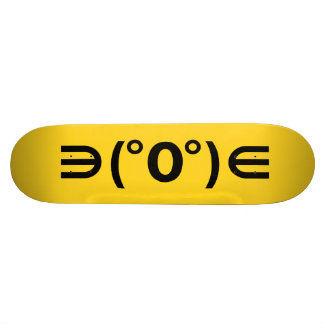 Fugu Kaomoji Japanese Emoticon Skate Board