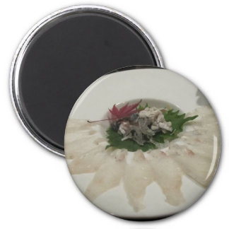 Fugu Sushi Collectible Tees Mugs & Other Gifts Magnet