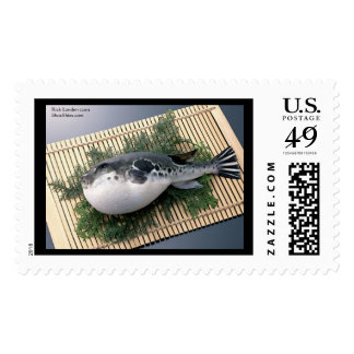 Fugu Sushi Real U.S. Postage Stamps Sheet of 20 Stamps