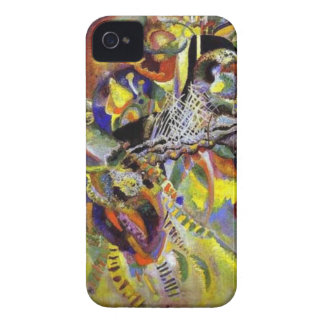 Fugue Abstract Painting by Kandinsky Case-Mate iPhone 4 Case