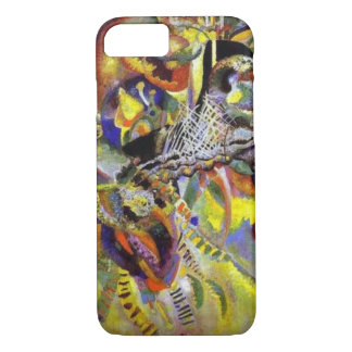 Fugue Abstract Painting by Kandinsky iPhone 7 Case