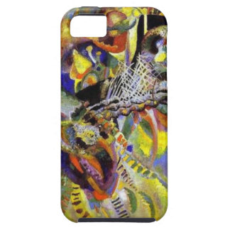 Fugue Abstract Painting by Kandinsky iPhone SE/5/5s Case