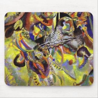 Fugue Abstract Painting by Kandinsky Mouse Pad