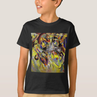 Fugue Abstract Painting by Kandinsky T-Shirt