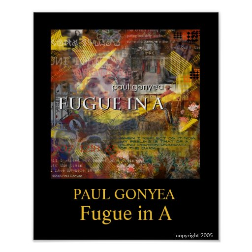 Fugue in A Poster