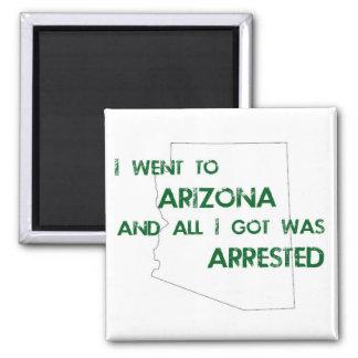 Fui a Arizona…. Imán Cuadrado