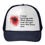 Fui a cazar con Dick Cheney y todo lo que conseguí Gorros Bordados