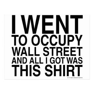 Fui a ocupar Wall Street Postal