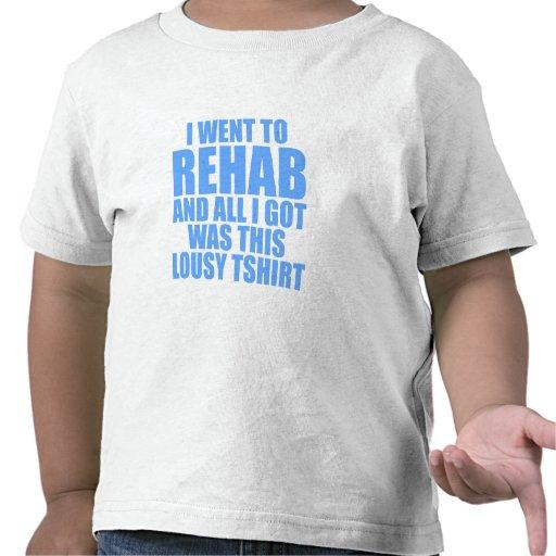 Fui a rehabilitar camisetas