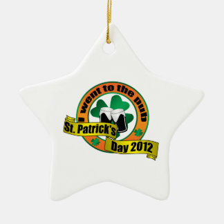 Fui al día 2012 de San Patricio del pub Ornamentos De Navidad