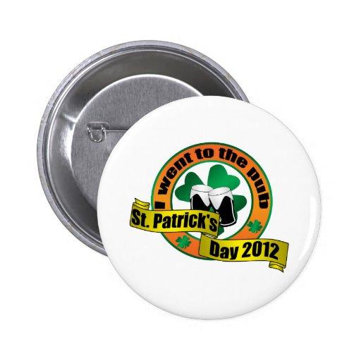 Fui al día 2012 de San Patricio del pub Pins
