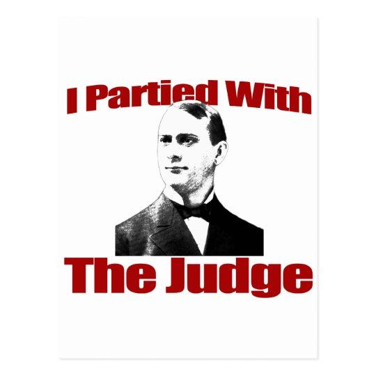 Fui de fiesta con el juez postales