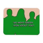 Fuimos verde, imán