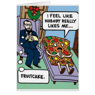 Fuitcake Psychology Greeting Card