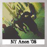 Fuite Anonyme, NY-Anon '08 Print