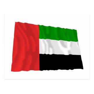 Fujairah Waving Flag Postcard
