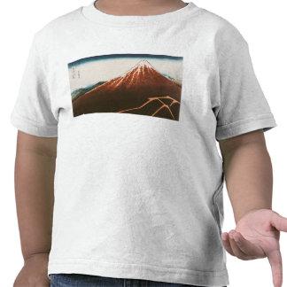 Fuji above the Lightning Tee Shirt