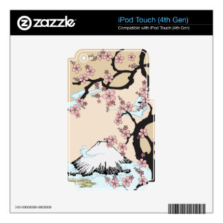 Fuji and Sakura: iPod Touch (4th Gen) Skin For iPod Touch 4G