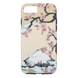 Fuji and Sakura - Japanese Design iPhone 7 case