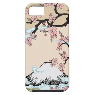 Fuji and Sakura - Japanese Design Iphone case