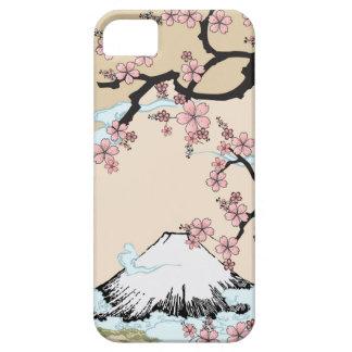 Fuji and Sakura - Japanese Design Iphone case