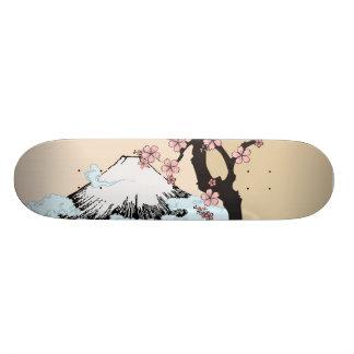 Fuji and Sakura: skateboard Skateboard